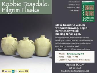 Robbie Teasdale: Pilgrim Flasks