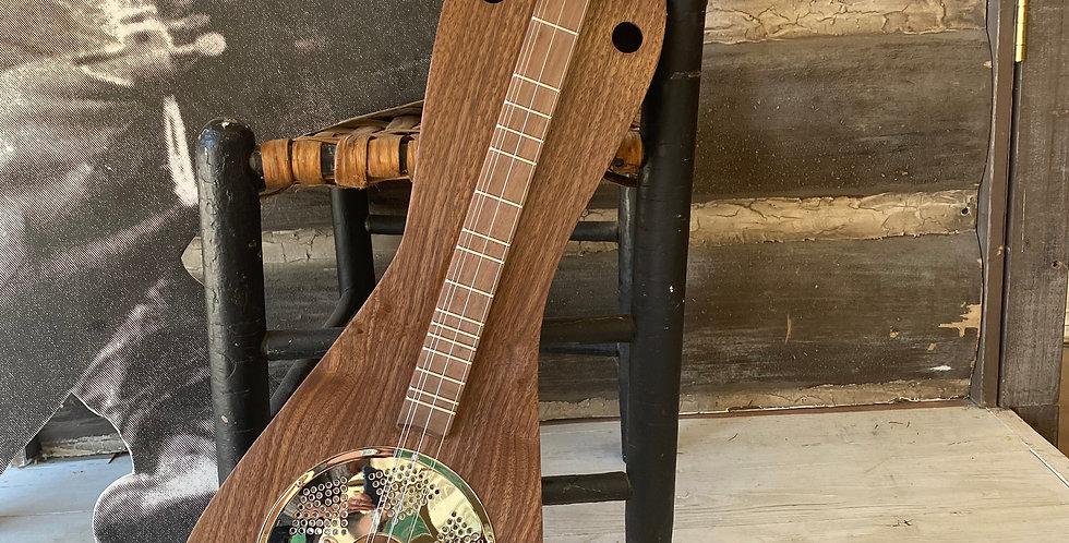 Paul Williams 4 String Walnut Resonator Dulcimer 6042