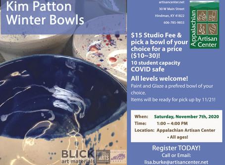 Winter Bowls with Kim Patton