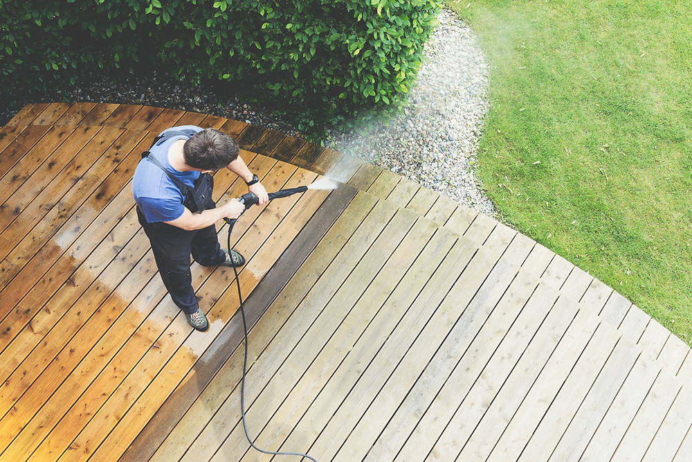 What is pressure washing?
