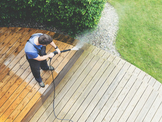 How to maintain your wooden deck if composite materials are not in the budget...