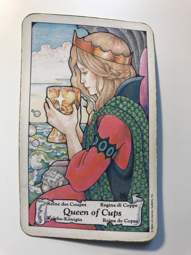 Tarot of the Day: Queen of Cups