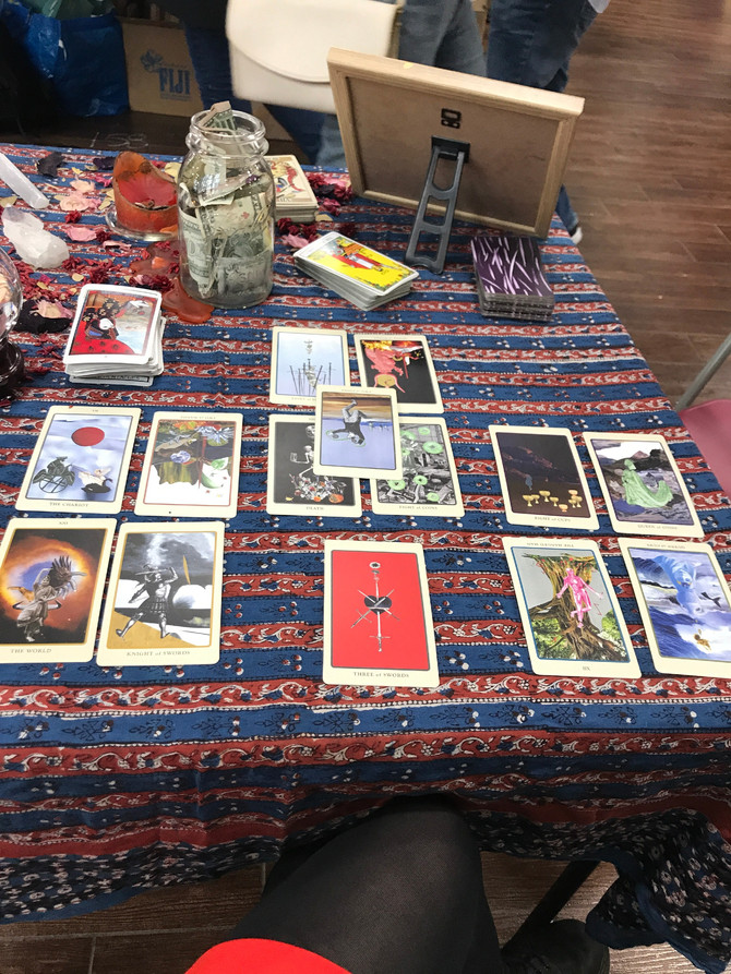 Extraordinary Tarot, The Game