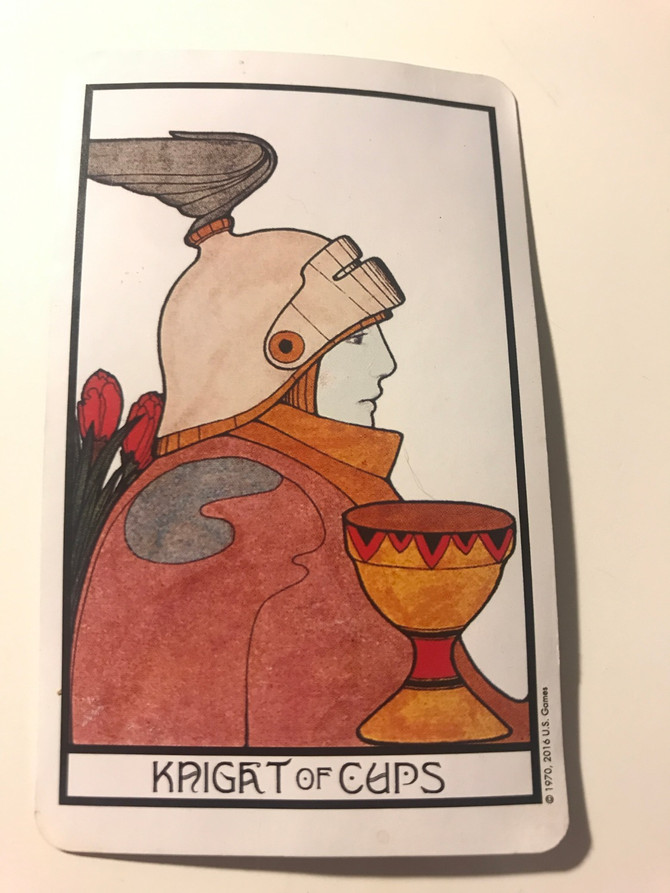 Tarot of the Day: Knight of Cups