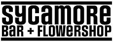 Sycamore Bar and Flowershop, Brooklyn Logo