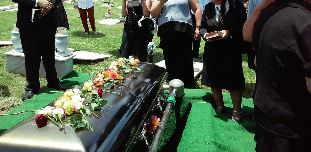 funerals, celebrants