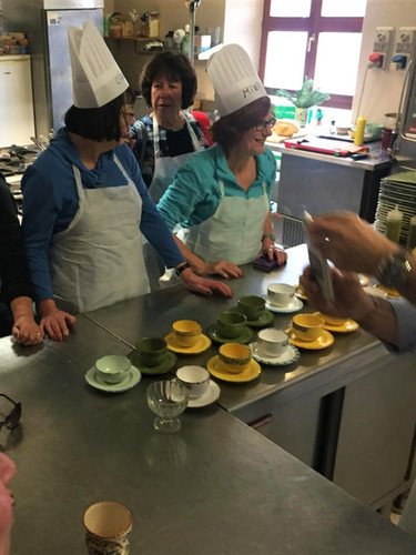 The ladies that joined our cooking class