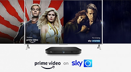Amazon Prime Video launches on Sky in major European deal