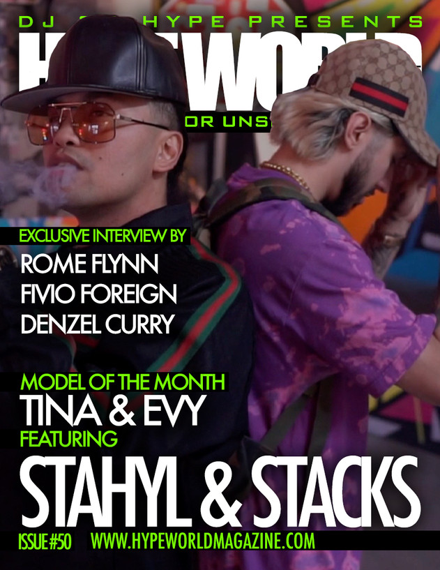 PURCHASE THE HYPE WORLD MAGAZINE ISSUE #50