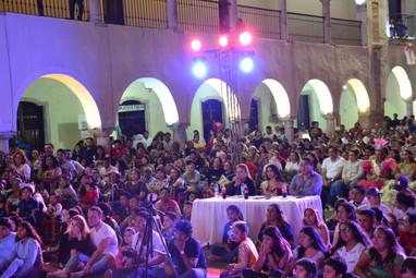 Jury & public du carnaval de Valladolid