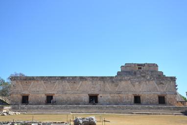 Ruines précolombiennes d'Uxmal