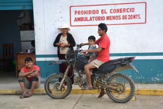 Famille à Patria, Réserve de Manu