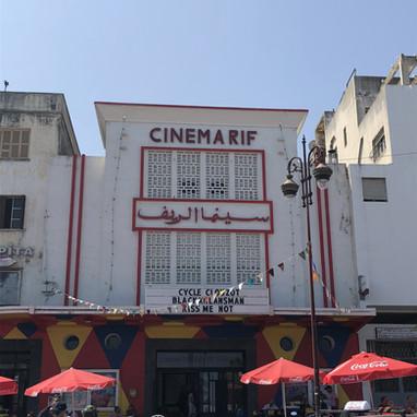 Façade du Cinema Rif