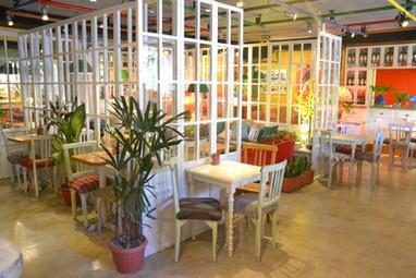 Restaurant du cinéma Ocho y Medio de Quito