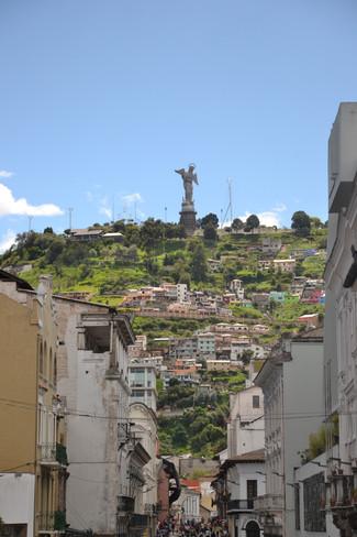 Vue du Centre Historique de Quito