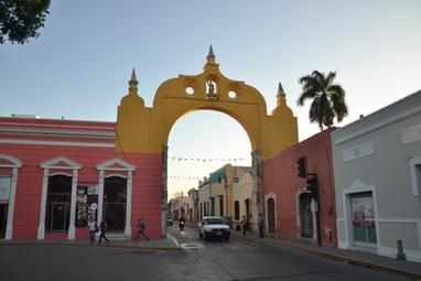 Arco de Dragones de Mérida