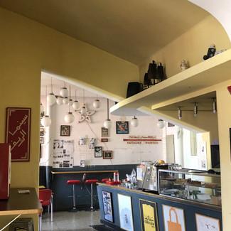 A l'intérieur du Cinéma Rif