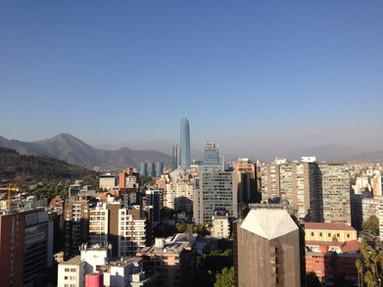Santiago vu d'en haut