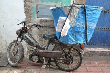 Moto Poubelle