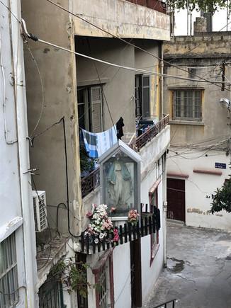 Vierge de rue
