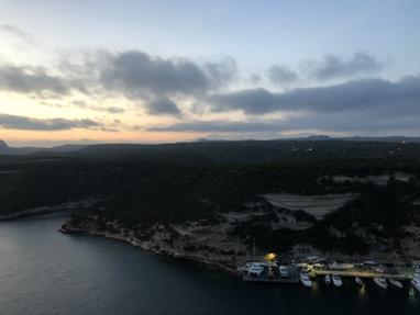 Port de Bonifacio vu de chez Jeanne