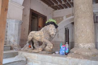 Le roi lion de l'Hotel Sevilla