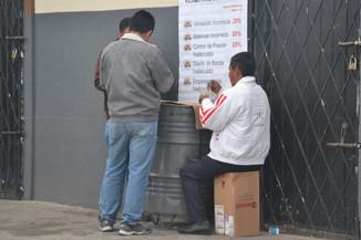 Joueurs de carte de la gare routière