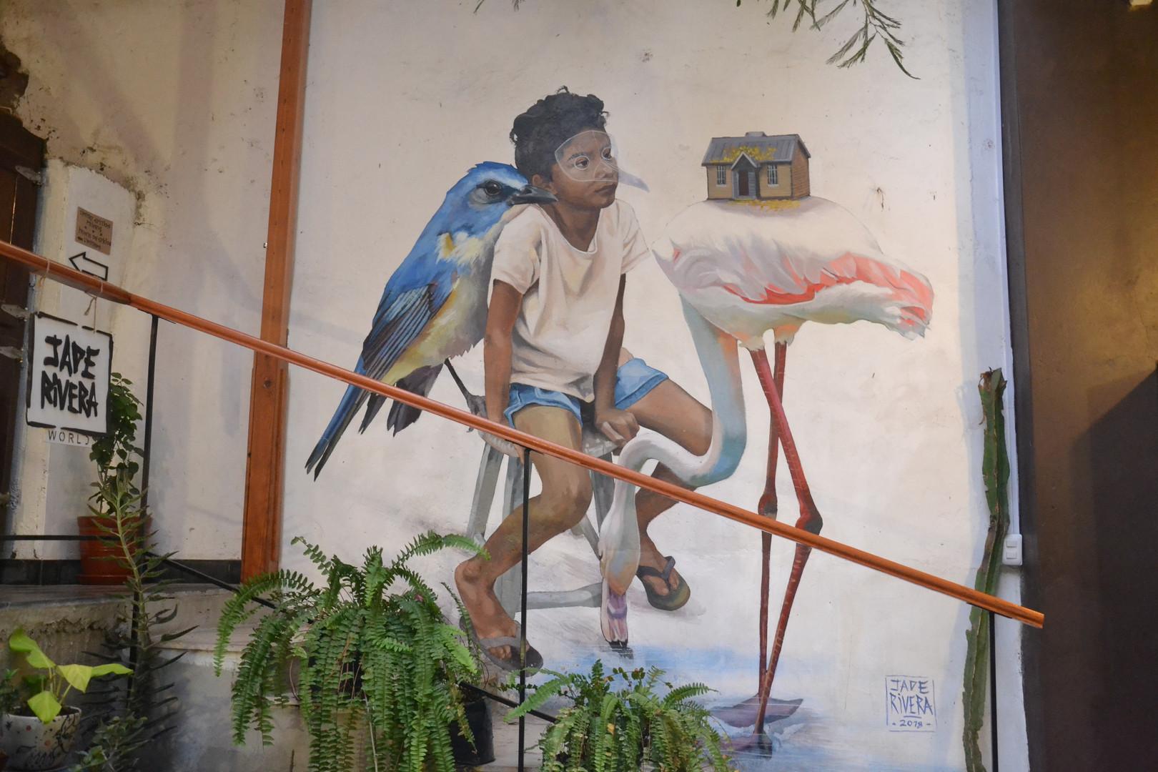 L'oiseau et l'enfant ( by Jade Rivera)