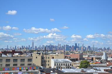 Manhattan vu du rooftop de Constance