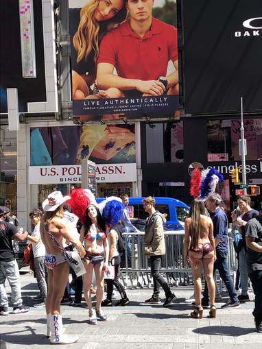 Naked Cowboy and Cowgirls