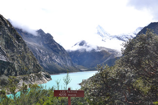 Laguna Paron : 4200 mètres d'altitude
