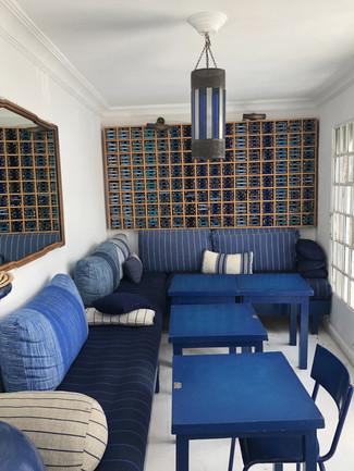 A l'intérieur du Salon Bleu