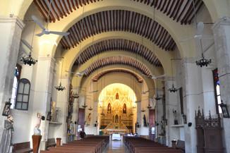 Intérieur de l'église San Juan Bautista