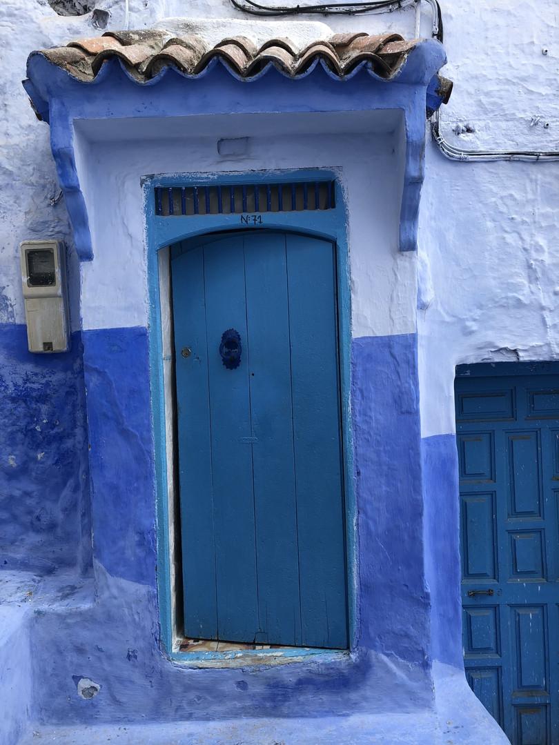 Camaïeu de bleus