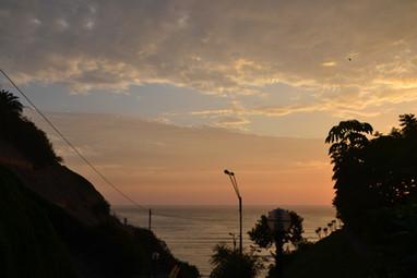 Coucher du soleil sur Barranco