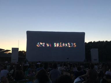 Springbreakers au Ciné Plein Air de la Villette