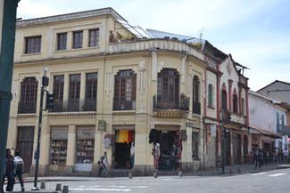 Vieil immeuble colonial