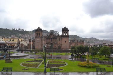 Vue sur la catédrale de Cusco