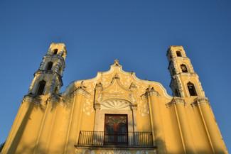 Façade de l'église San Juan Bautista