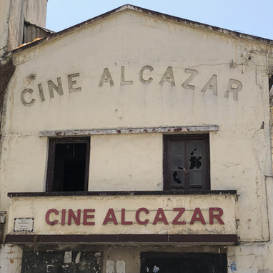 Ciné Alcazar abandonné
