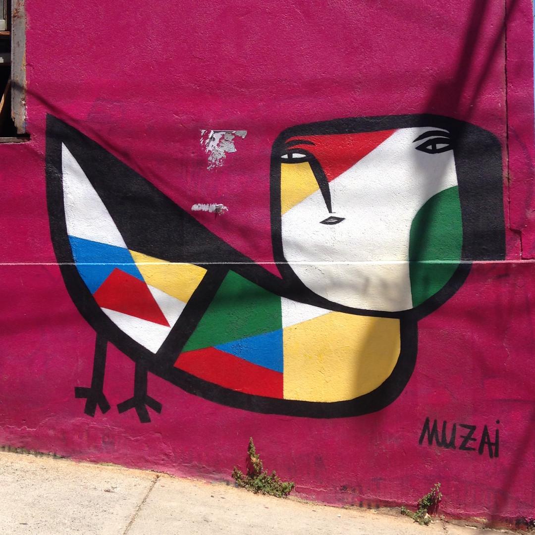 Mural à la Miro