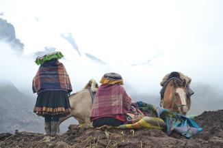 Cierro de los Siete Colores, Cusco, Pérou. Janvier 2020.
