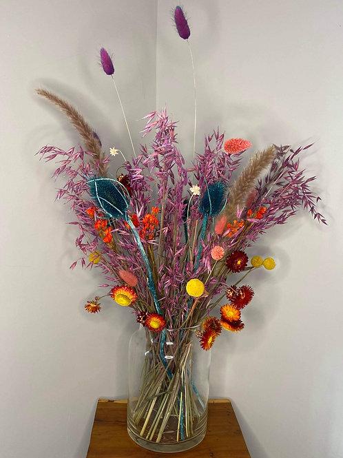 Letterbox flowers bright colours bundle