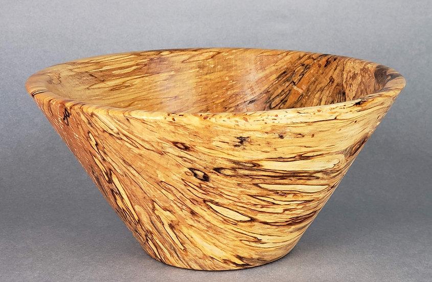Spalted White Birch Bowl- Gebhart