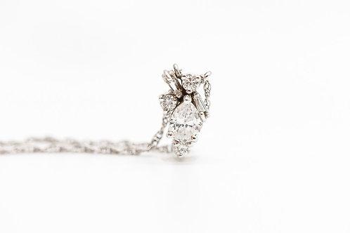 Diamond Necklace 14K