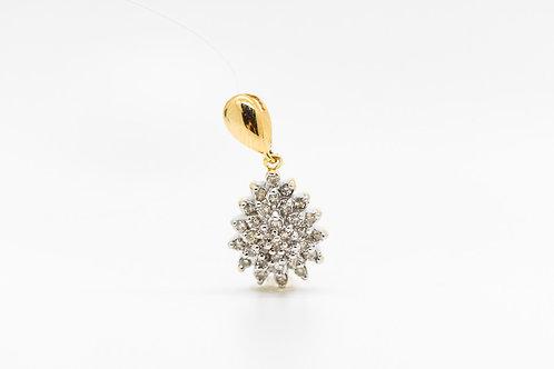 Diamond Pendant 10K