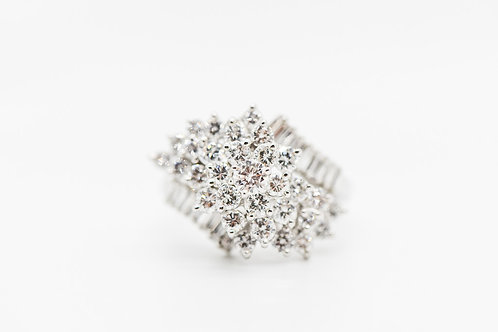 Diamond Cocktail Ring 18K