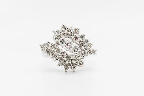 Diamond Cocktail Ring 14K