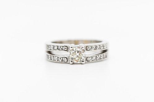 Diamond Engagement Ring 18K