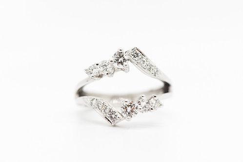 Diamond Ring Guard 14K